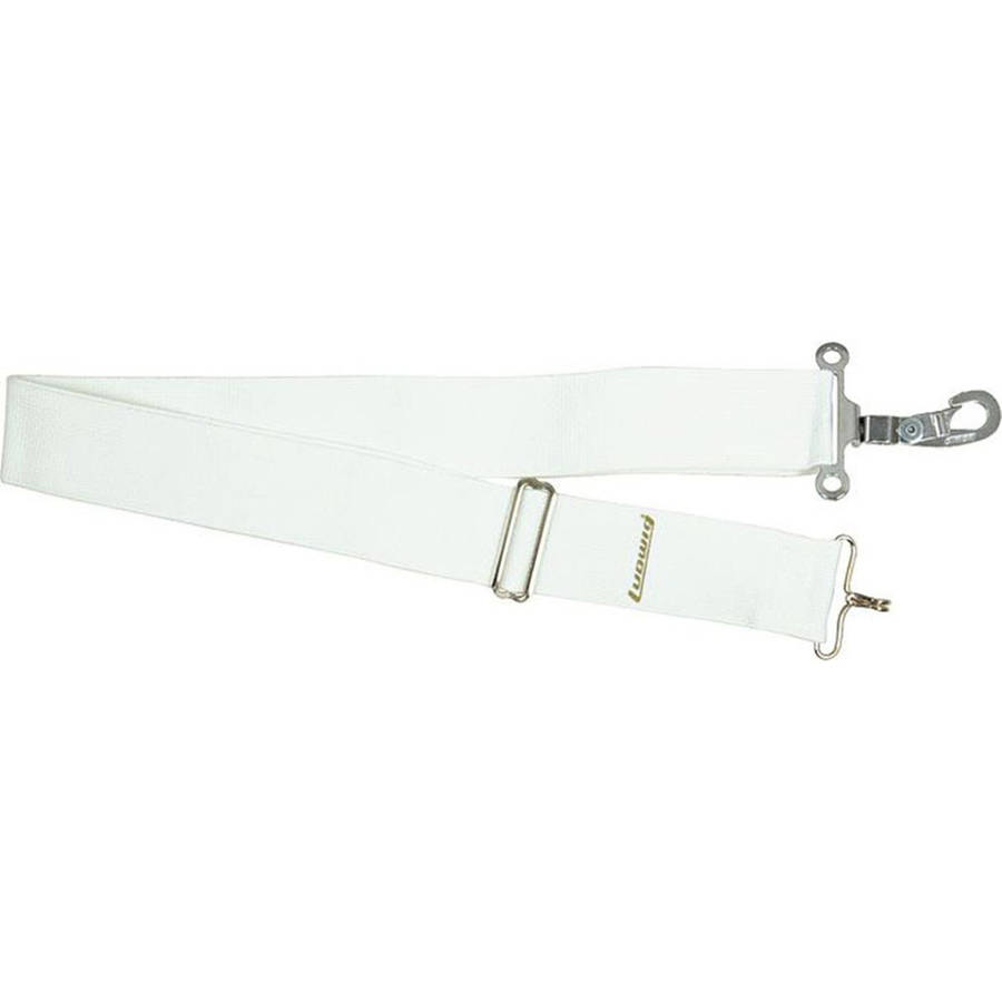 Ludwig LF382W White Parade Marching Snare Drum Sling by Ludwig