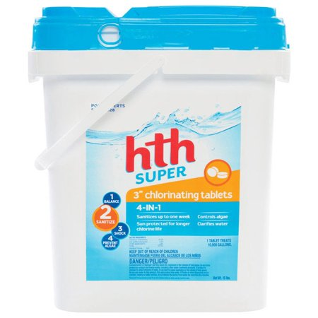 Hth 42011 Chlorinating Chemicals Tablet 15 Lb Walmart Com
