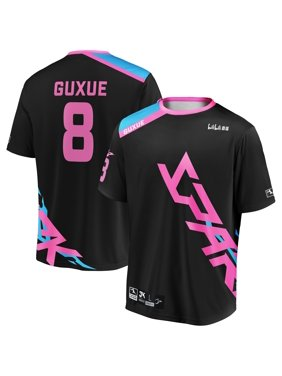 guxue Hangzhou Spark INTO THE AM 2019 Overwatch League Limited Edition Authentic Third Jersey - Black/Pink