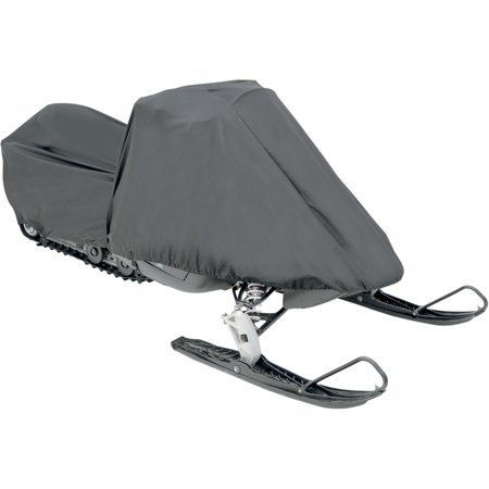Parts Unlimited Trailerable Universal Snowmobile Cover Black   - Skinz Snowmobile Cover