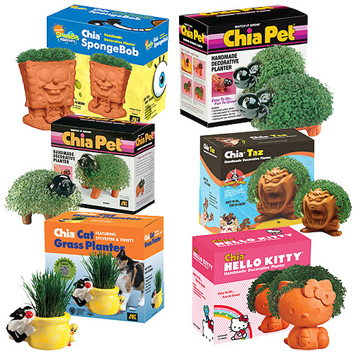 As Seen on TV Chia Pet Assortment (Your Choice)