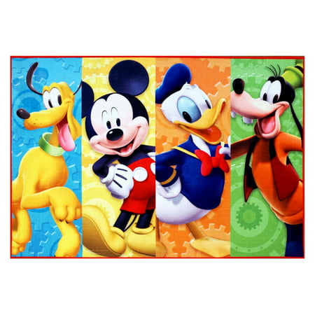 Mickey Mouse HD Patchwork Rug, 54