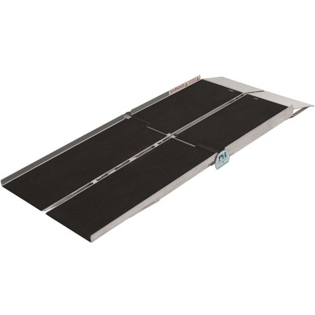6' Portable Rear Door Van Ramp for Scooters, Wheelchairs and Power Chairs ()