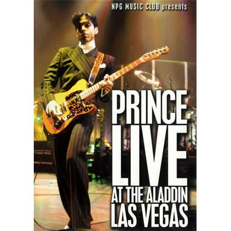 Pop Culture Graphics MOVGJ4564 Prince Live at the Aladdin Las Vegas Movie Poster, 11 x 17 - Halloween Shops Las Vegas