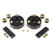 ReadyLift Suspension 15-16 GM Colorado/Canyon 2in T6 Billet Aluminum Leveling Kit Anodized - Black