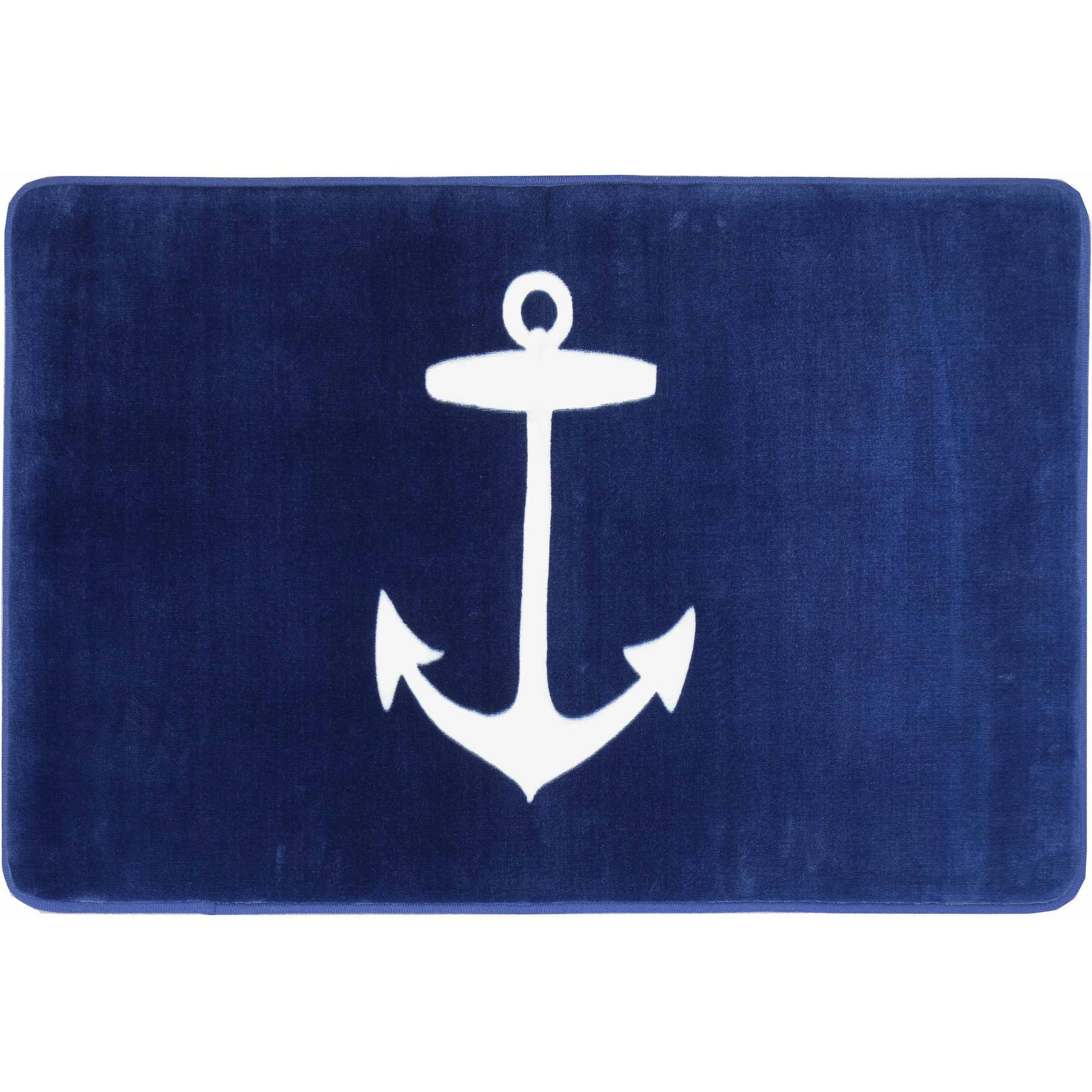Better Homes and Gardens Nautical Memory Foam Bath Mat