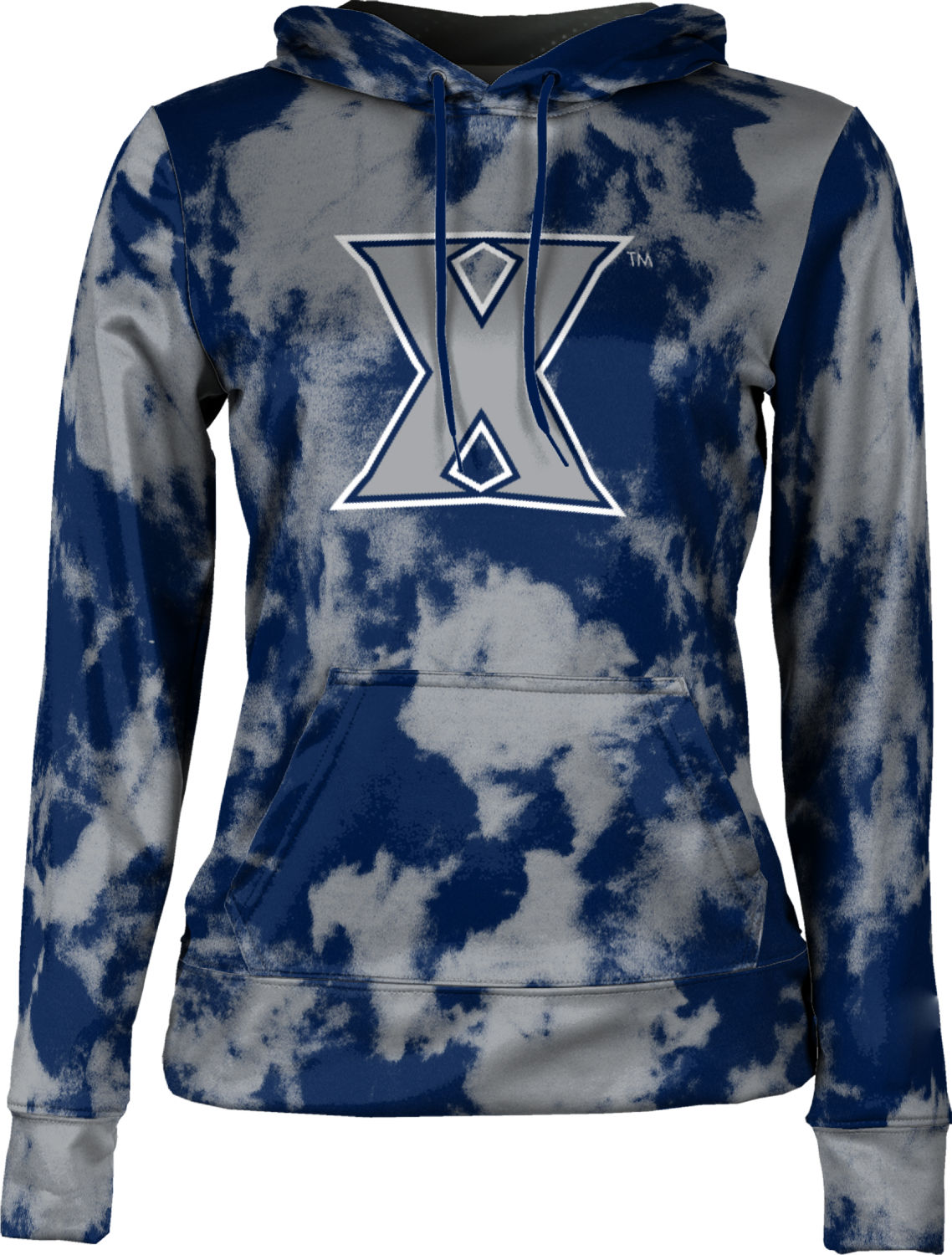 ProSphere Xavier University Boys Pullover Hoodie Spray Over