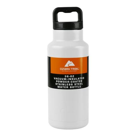 Ozark Trail 36 OZ White Water Bottle 0.6l Metal Water Bottle
