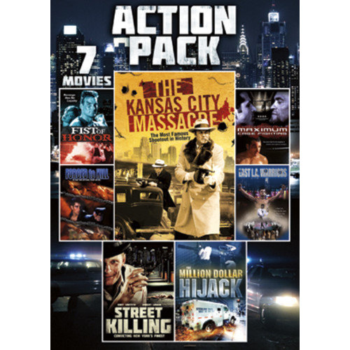 7-Film Action Pack: The Kansas City Massacre / Fist Of Honor / Forced To Kill / East L.A. Warriors / Street Killing / The Million Dollar Hijack / Maximum Cage Fighting