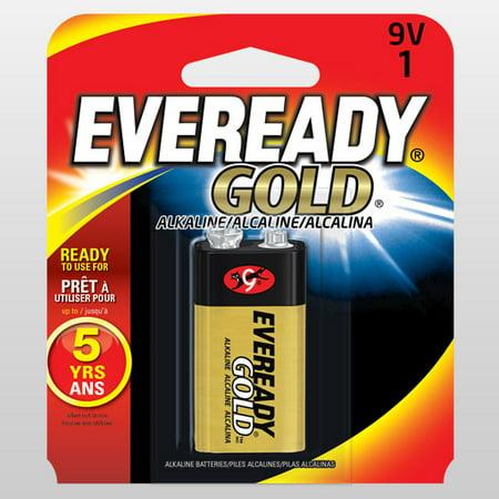 Eveready Pile alcaline 9V - Paquet au d-tail - Simple - image 1 de 1