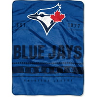 "Toronto Blue Jays The Northwest Company 60"" x 80"" Backstop Silk Touch Throw Blanket"
