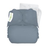 bumGenius Original One-Size Cloth Diaper 5.0 - Armadillo (fits babies 8-35 lbs)