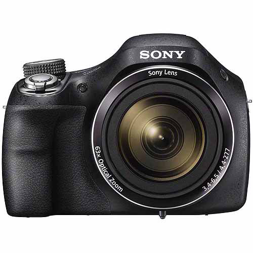 Sony Black DSC-H400/B Digital Camera with 20.1 Megapixels and 63x Optical Zoom