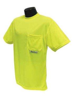 RADIANS ST11-NPGS-M Short Sleeve T-Shirt,Unisex,M,20 in.,Grn G9672275