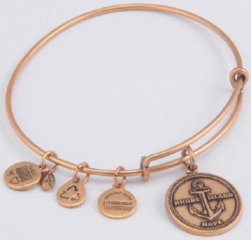 Alex and Ani -Rhode Island Charm Bangle Rafaelian Gold ...