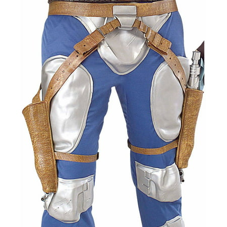 Make Jango Fett Costume (Jango Fett Blaster Holsters Adult Halloween Accessory )
