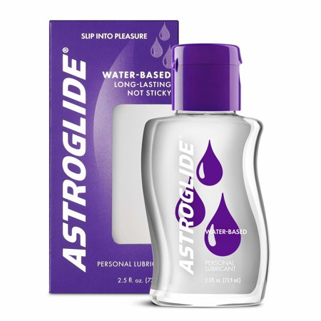 Astroglide Personal Water Based Lubricant - 2.5 (Best Lubricant For Dildo)