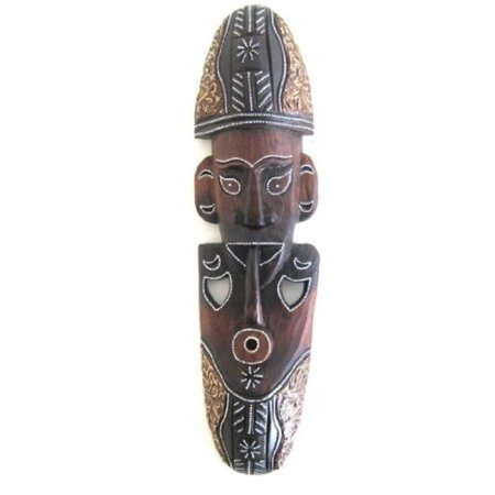 African Wall Mask World Peace Wise Man Wall Hanging Decor  Wood Carved - OMA BRAND Africa Carved Wood Mask