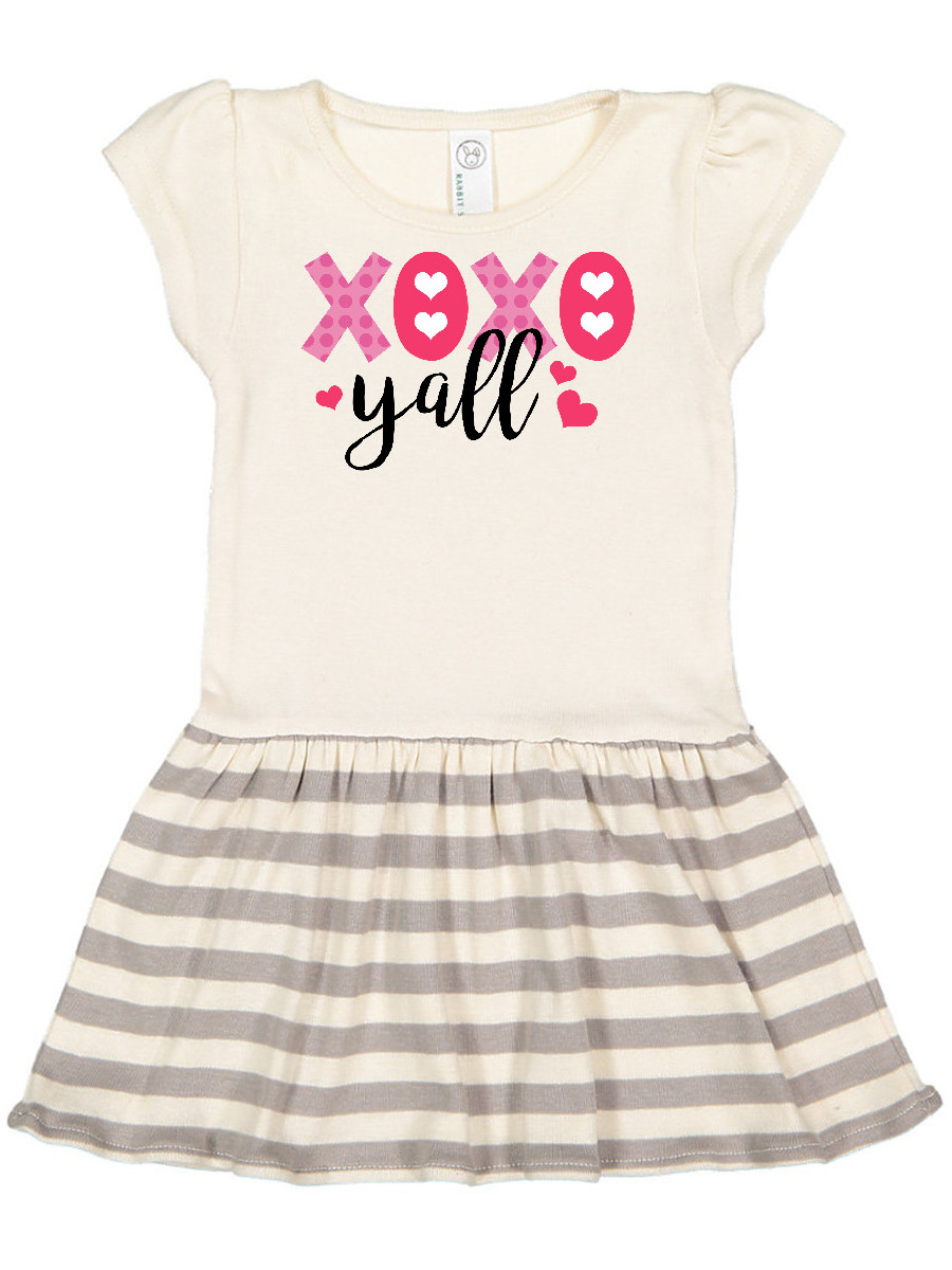 HUGS /& KISSES valentines day hugs and kisses y/'all toddler shirt