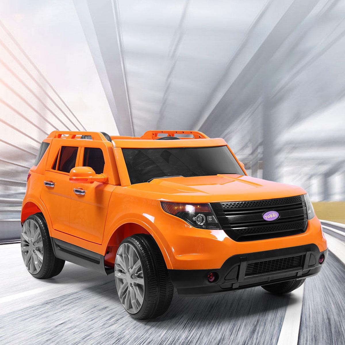 Jaxpety Orange 6V Kids Ride On Car W/MP3 Electric Battery Power Remote Control