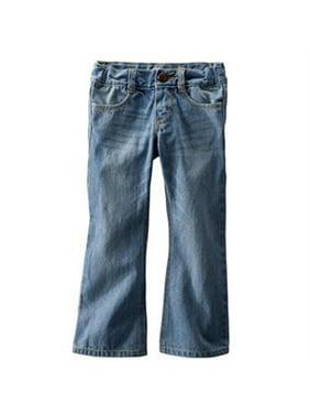 OshKosh B'gosh Baby Girls' Bootcut Jeans Light Blue Wash