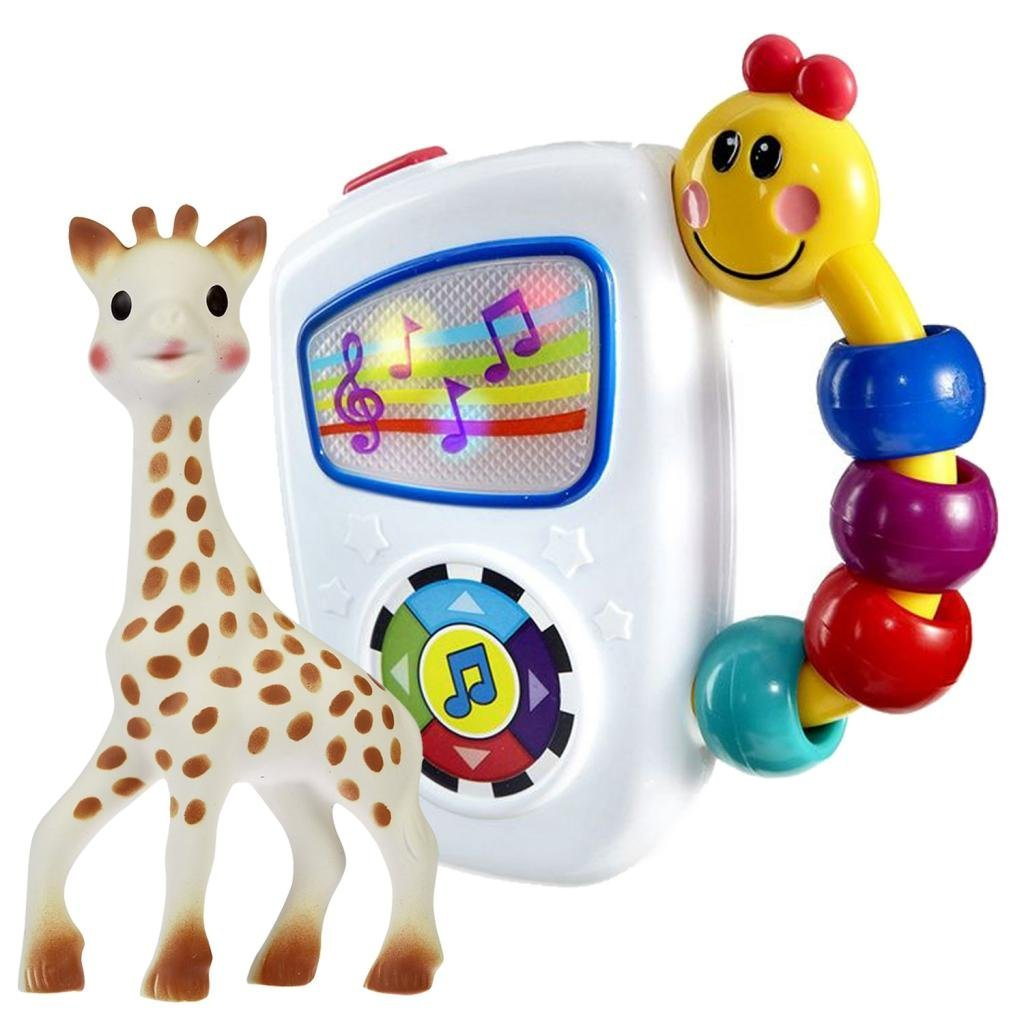 Vulli Sophie The Giraffe Teether with Baby Einstein Take Along Tunes by Vulli%2FBaby Einstein