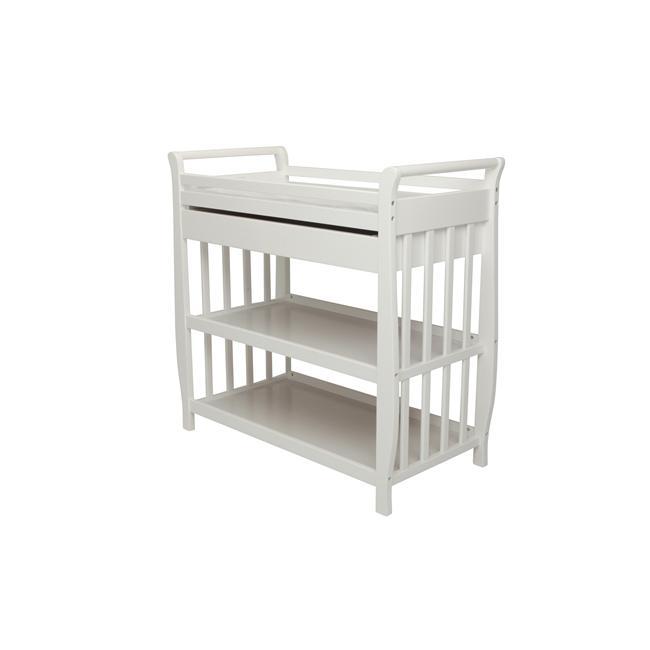 Image of AFG Athena Nadia Changing Table - White - 3353W