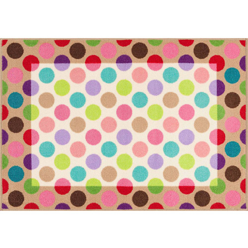 "Mainstays Kid's Sophie Accent Rug, Multi-Color, 2'7"" x 3'9"""