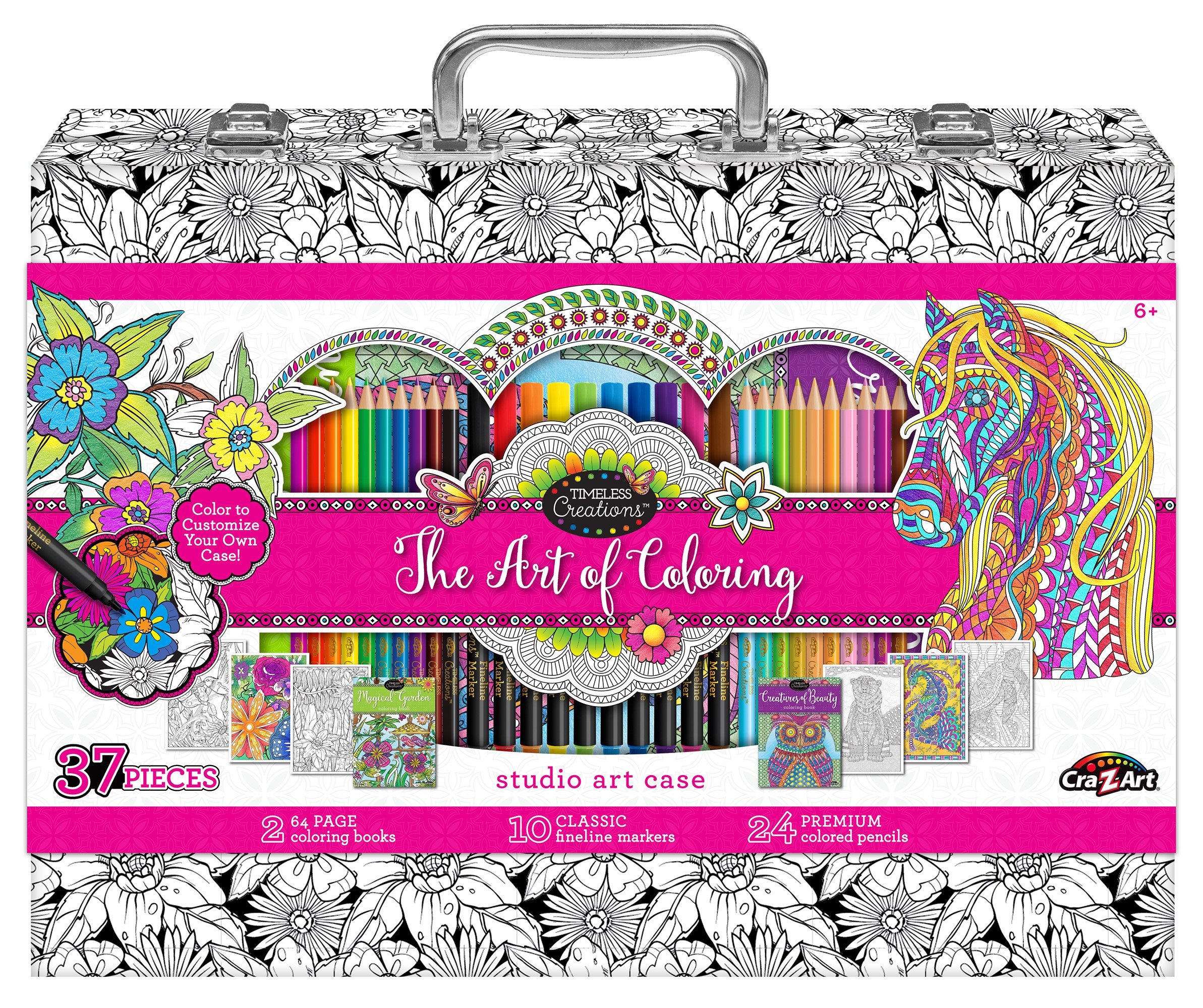 Art Of Coloring Adult Coloring Case by LaRose Industries, LLC