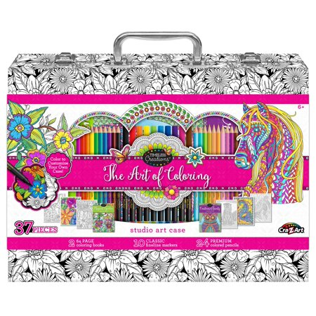 Art Of Coloring Adult Coloring Case - Walmart.com