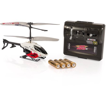 Image of Air Hogs Axis 200 R/C Helicopter with Batteries, Red