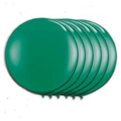 36 Inch Giant Latex Balloon Green (Premium Helium Quality) Pkg/3, Party Magic USA Brand Latex Balloons