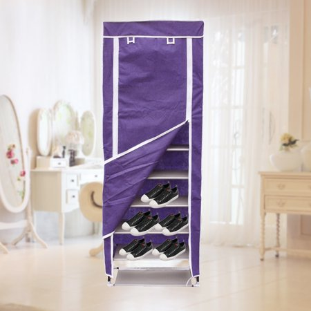 Durable Home Use 10 Layer 9 Grids Large Capacity Shoe Cabinet Shoes Storage Racks Home Decorative