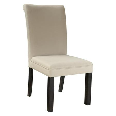Standard Furniture Gateway Parsons Dining Chair- Dark Chicory Brown - Set of 2 ()