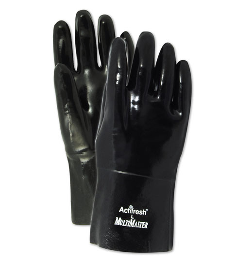 Magid MultiMaster Smooth Finish Neoprene Gloves, 12 Pairs by