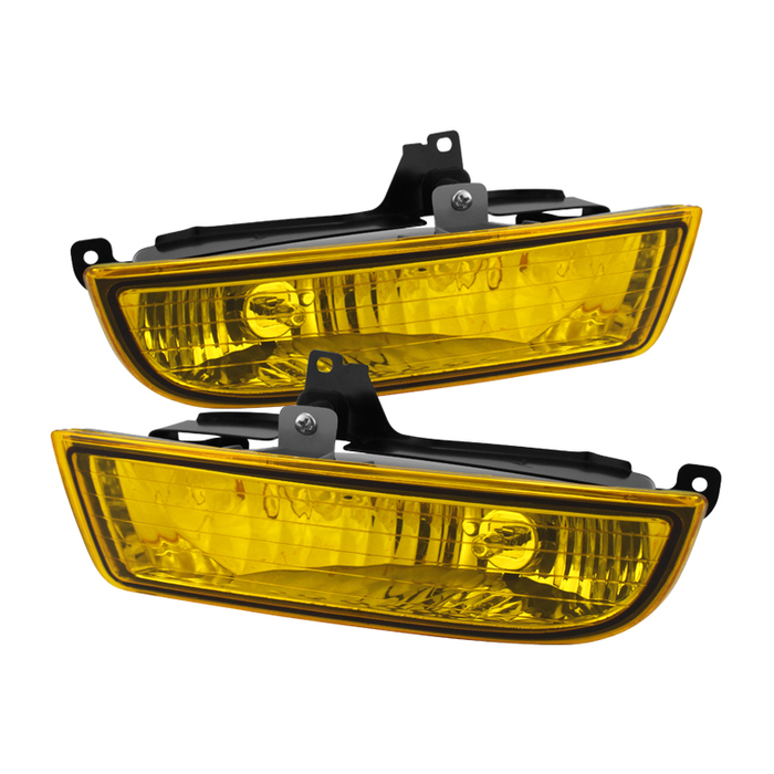 Spyder Honda Prelude 97-01 OEM Fog Lights W/Switch- Yellow