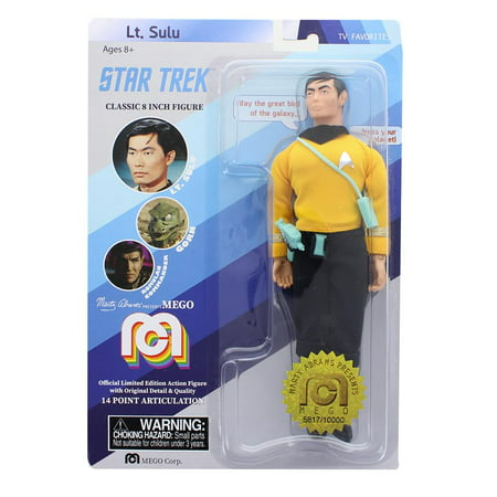 Mego Star - Star Trek TV Favorites Lt. Hikaru Sulu Action Figure