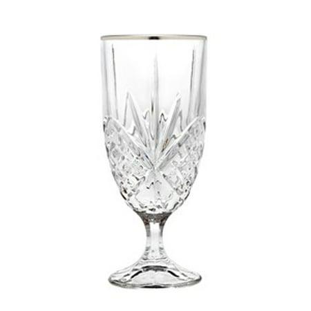 - Dublin Leaded Crystal Platinum Iced Tea Beverage Glasses, Set of 4