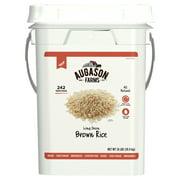 Augason Farms Long Grain Brown Rice Emergency Food Storage Pail
