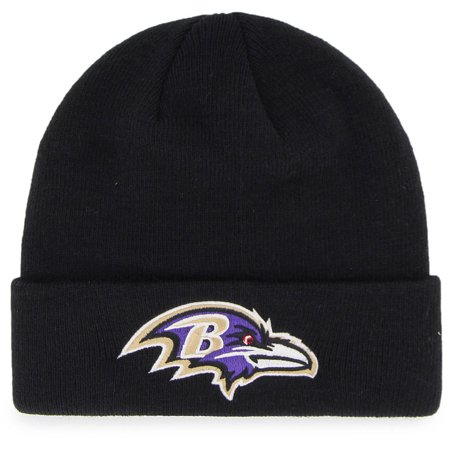 Baltimore Ravens Womens Hats - NFL Baltimore Ravens Mass Cuff Knit Cap - Fan Favorite