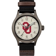 Timex - NCAA Tribute Collection Clutch Men's Watch, University of Oklahoma Sooners