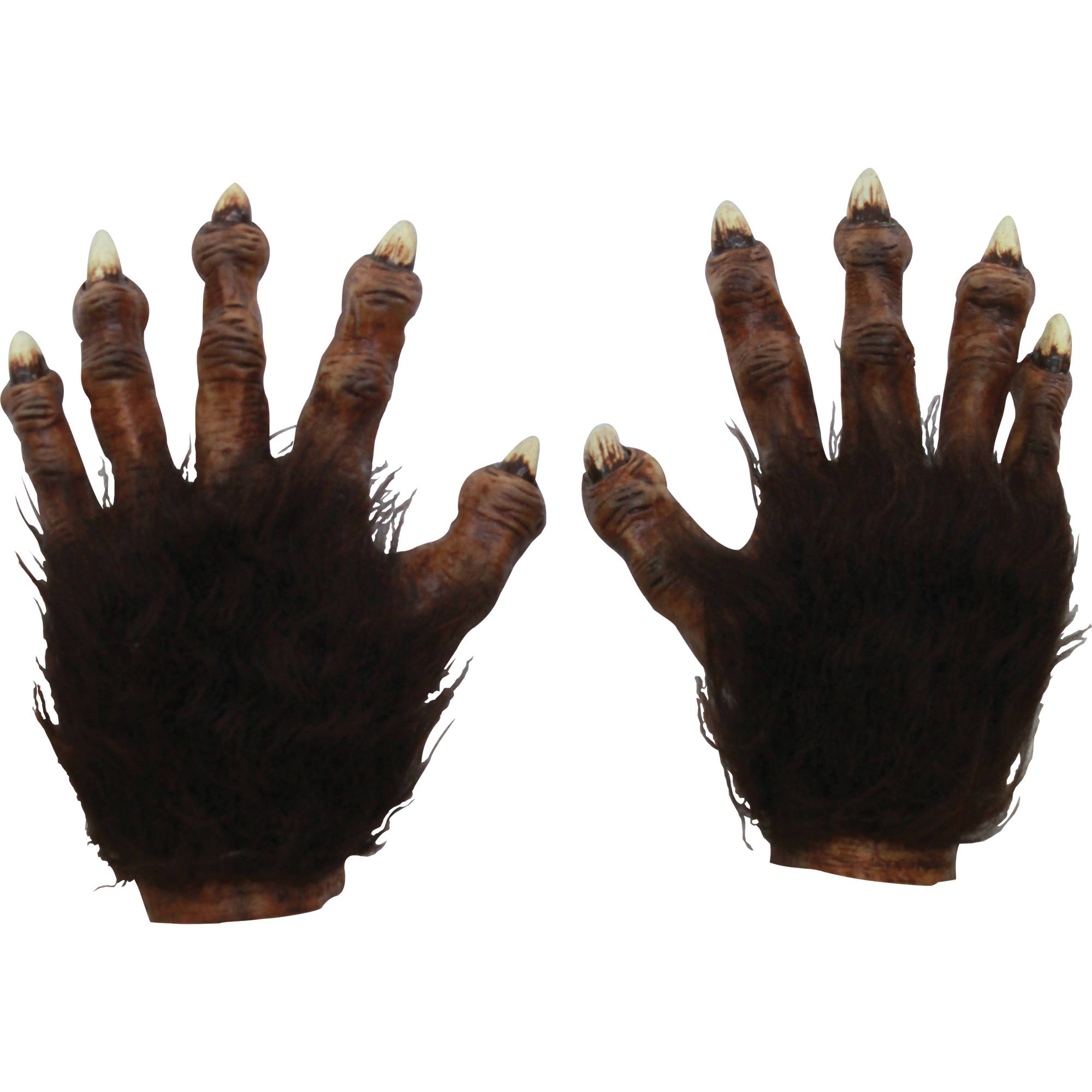 Wolf Hands Latex Deluxe Adult Halloween Accessory