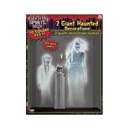 Halloween Decorations For Outside Party (GHOSTLY SPIRITS-GHOSTLY WALL)