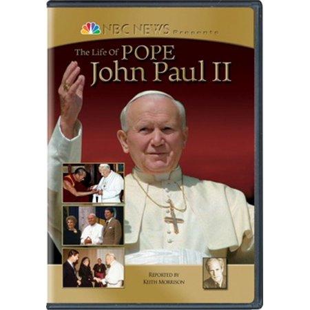 NBC News Presents: The Life of Pope John Paul II (DVD) (John Paul Jones Dvd)