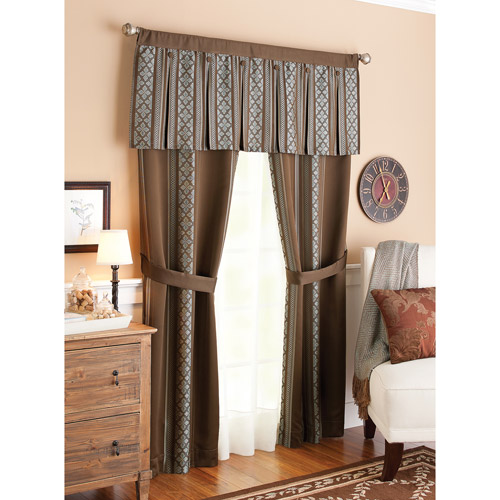 Better Homes and Gardens Box Pleat Window Set