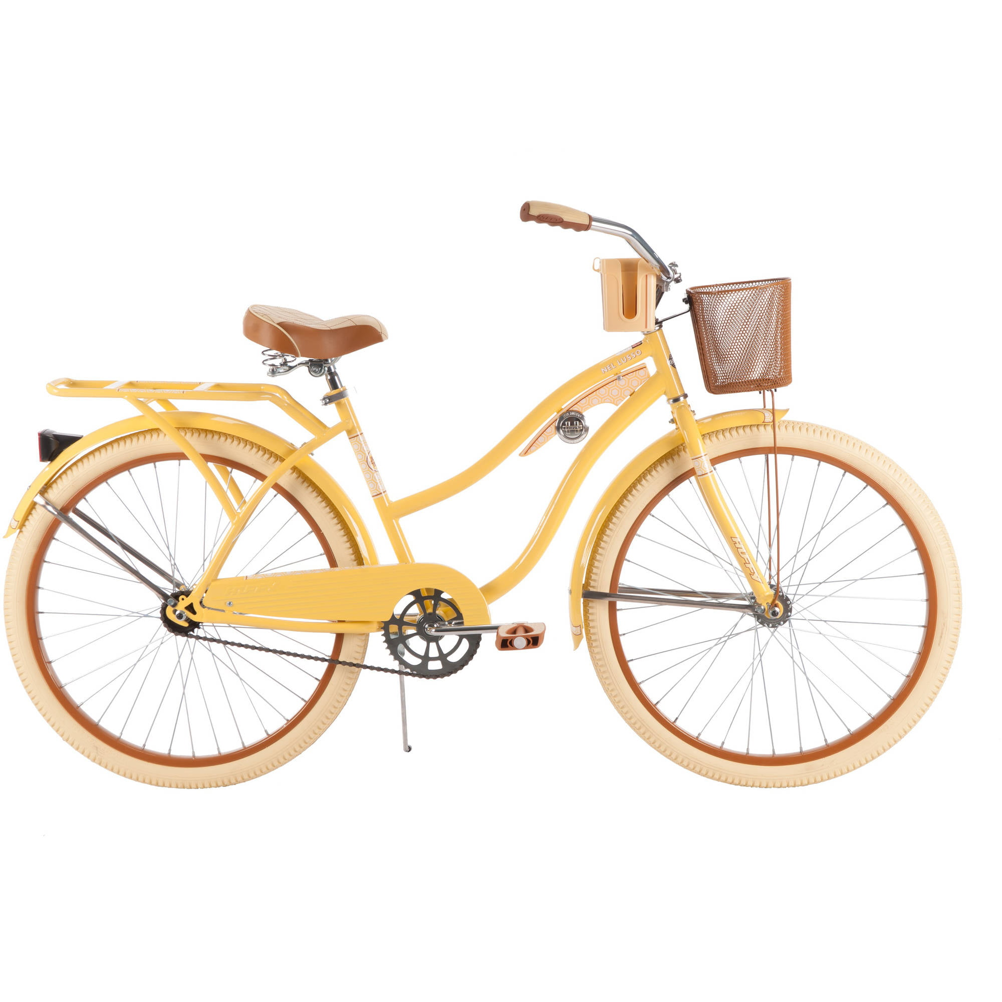 "Huffy 26"" Nel Lusso Women's Cruiser Bike, Yellow by Huffy"