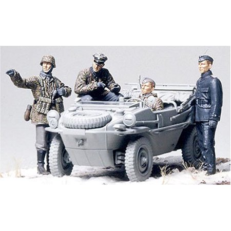 Panzer Division Frontline Team 1 35  Plastic Model Kit Assembly Required By Tamiya Ship From Us