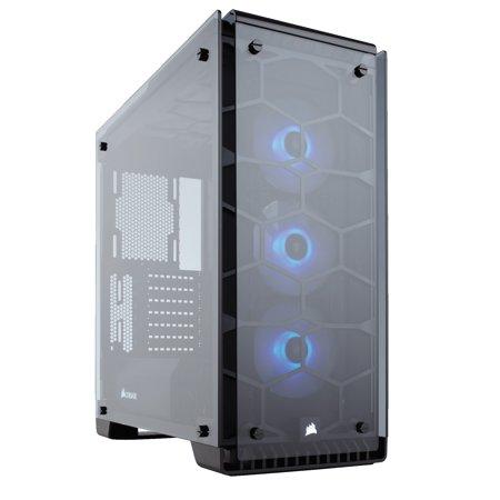 Corsair Crystal Series 570X RGB - Tempered Glass, Premium ATX Mid-Tower Case Cases CC-9011098-WW -