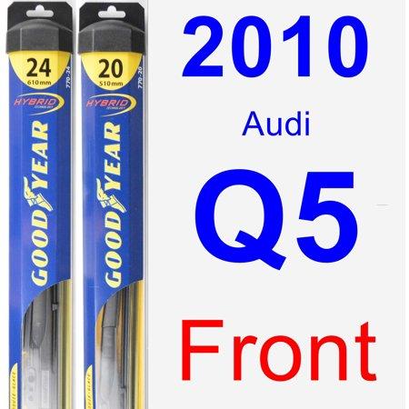 2010 Audi Q5 Wiper Blade Set/Kit (Front) (2 Blades) -