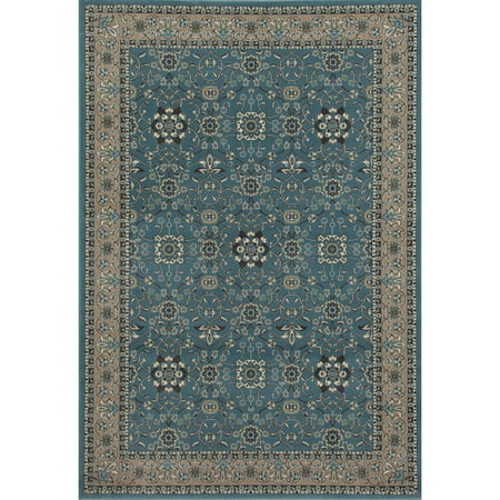 Floral Carpet Designs - Traditional Design High Quality Floral Area Rug, 072